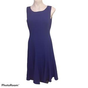 Calvin Klein Collection Blue Scoop Dress